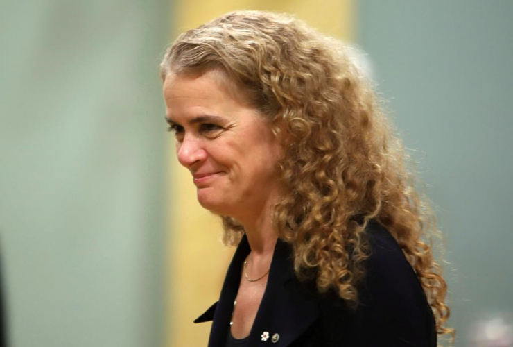 Julie Payette, Awards, Commemoration of the Persons Case, Rideau Hall, official residence, Governor General of Canada,