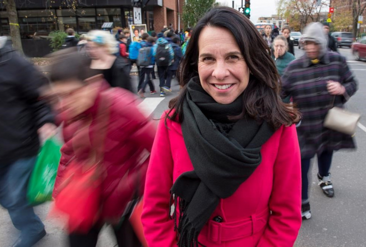 Montreal mayor candidate, Valerie Plante, Montreal, Municipal elections, Quebec,