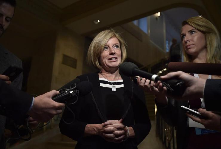 Alberta Premier, Rachel Notley,