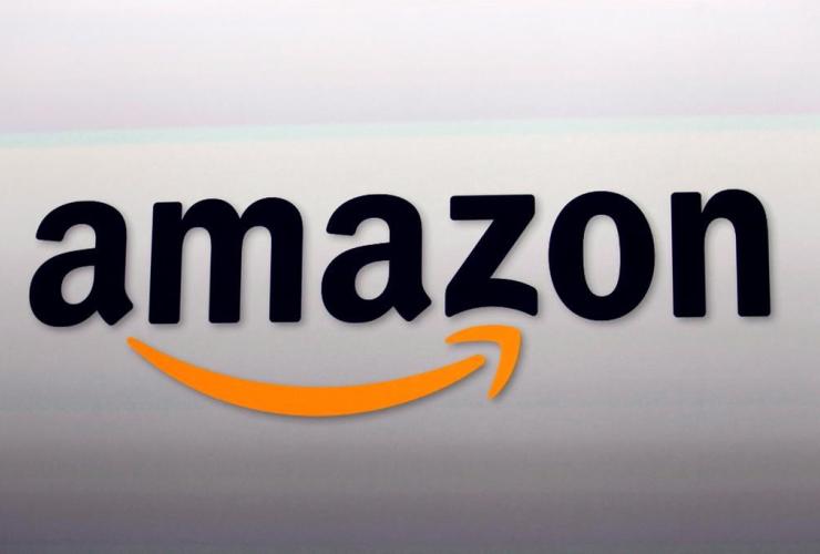 Amazon logo, Santa Monica,