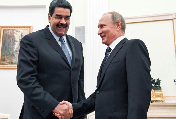 Russian President Vladimir Putin, Venezuela's President Nicolas Maduro, Kremlin, Moscow, Russia,