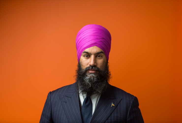 NDP Leader Jagmeet Singh in Ottawa on Oct. 17, 2017