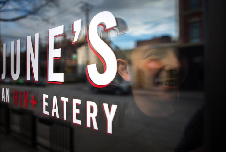 Chef Matt Basile, June's HIV+ Eatery, Toronto,