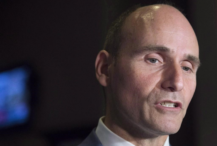 Jean-Yves Duclos, minister of Families, Children and Social Development, Liberal cabinet, St. John,