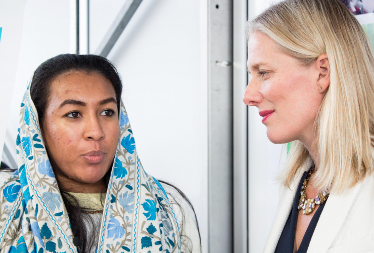 Hasna Hassan, Catherine McKenna, climate change, Bonn, Germany, gender