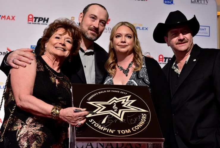 Stompin' Tom Connors, Walk of Fame,