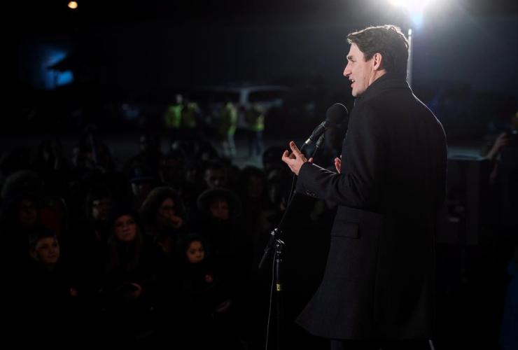 Prime Minister Justin Trudeau, Clarenville,