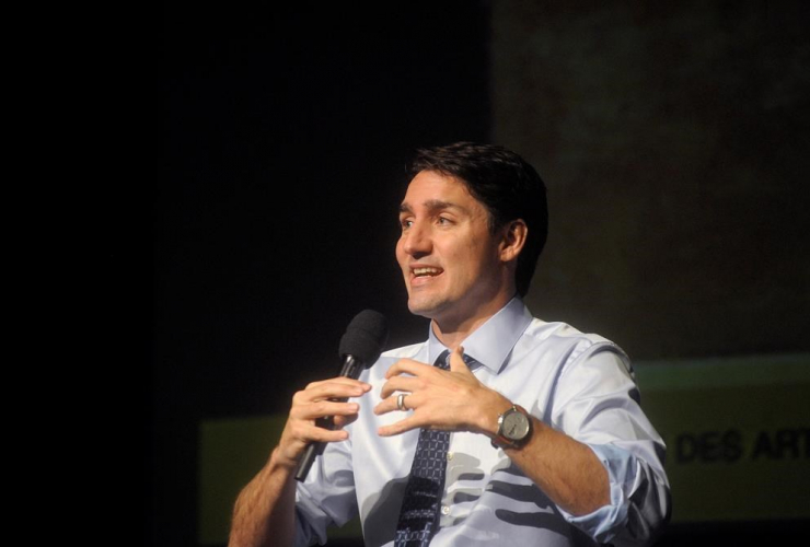 Prime Minister Justin Trudeau, Symons Lecture speech, Confederation Centre of the Arts, Charlottetown, /