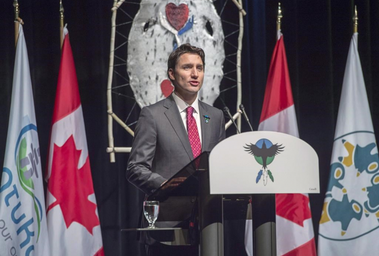Prime Minister Justin Trudeau, apology, Government of Canada, former students, Newfoundland and Labrador Residential Schools, Happy Valley-Goose Bay,