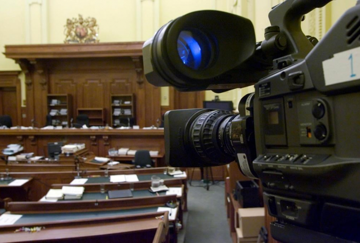 television camera, courtroom, Steven Truscott case, Ontario Court of Appeal, Toronto,