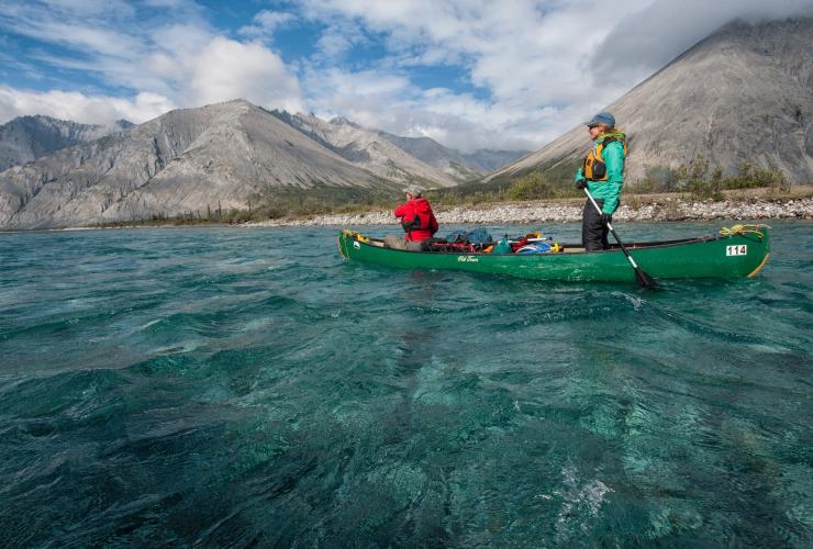 Wind river paddlers, Peel Watershed