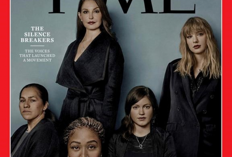 Time magazine, Person of the Year, edition, The Silence Breakers,sexual assault and harassment