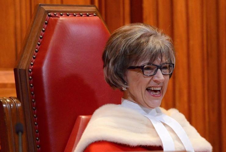 Supreme Court Judge, Beverley McLachlin,