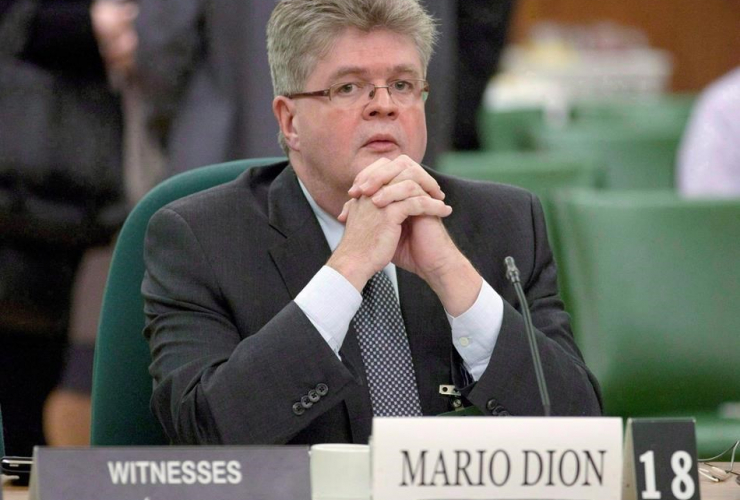 Public sector integrity commissioner, Mario Dion,