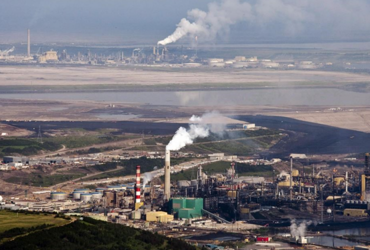 Suncor, Fort McMurray, oilsands, emissions,