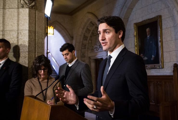 Justin Trudeau, Aga Khan, House of Commons, Parliament Hill, Ottawa, ethics, vacation