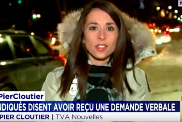Marie-Pier Cloutier, TVA Nouvelles, mosque, false news, construction site, Montreal, Quebec, Muslims