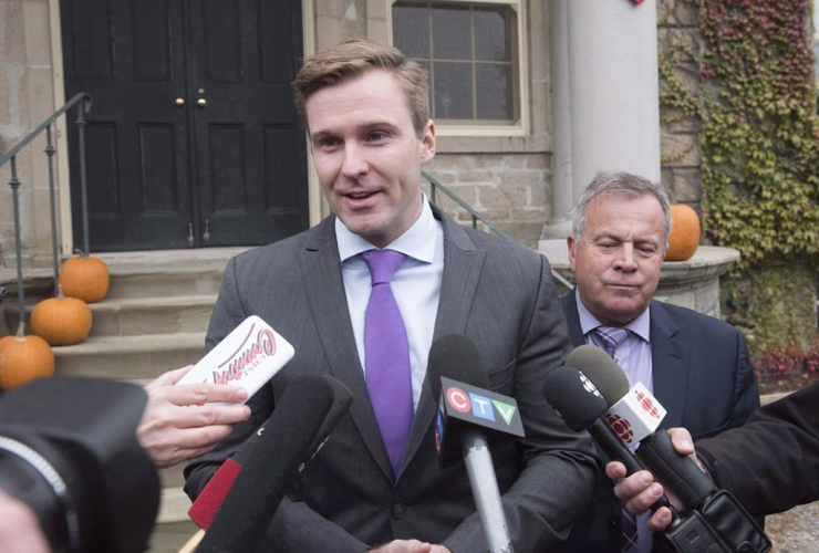 New Brunswick Premier, Brian Gallant, Rick Doucet, government house leader,