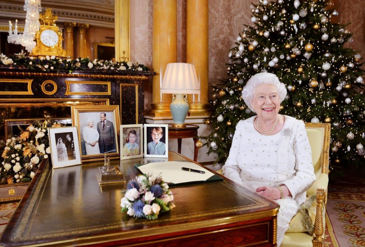 Queen Elizabeth, Buckingham Palace, Christmas Day broadcast, Commonwealth, London,