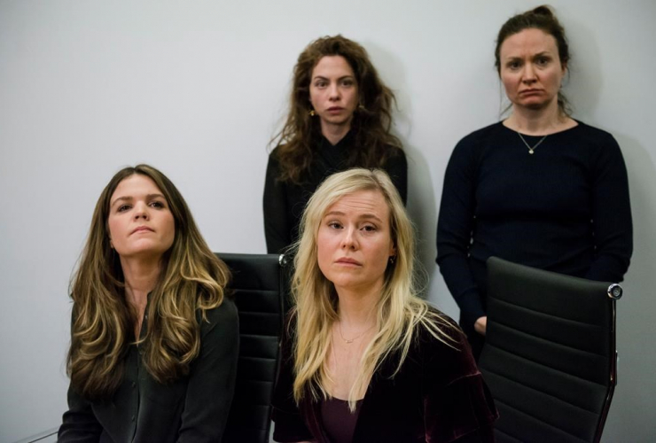 Diana Bentley, Hannah Miller, Kristin Booth, Patricia Fagan, sexual harassment, Souplpepper Theatre Company, Albert Schultz