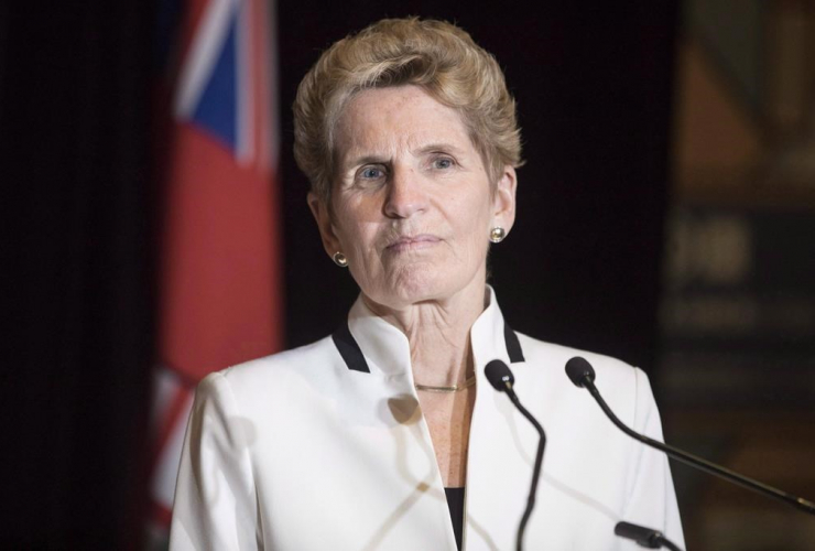 Ontario Premier Kathleen Wynne, Confederation of Tomorrow 2.0 Conference,