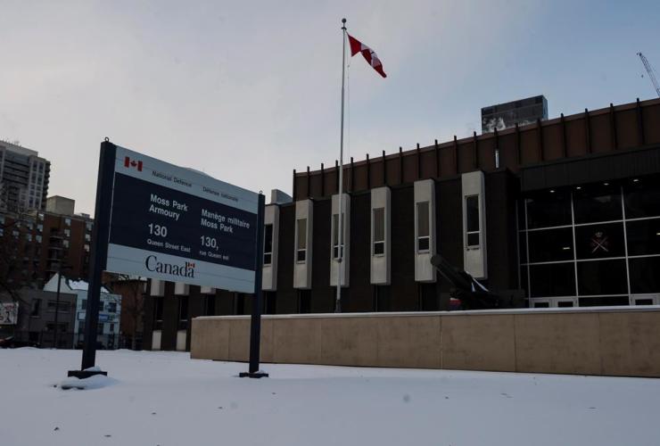 Moss Park Armoury, Toronto,