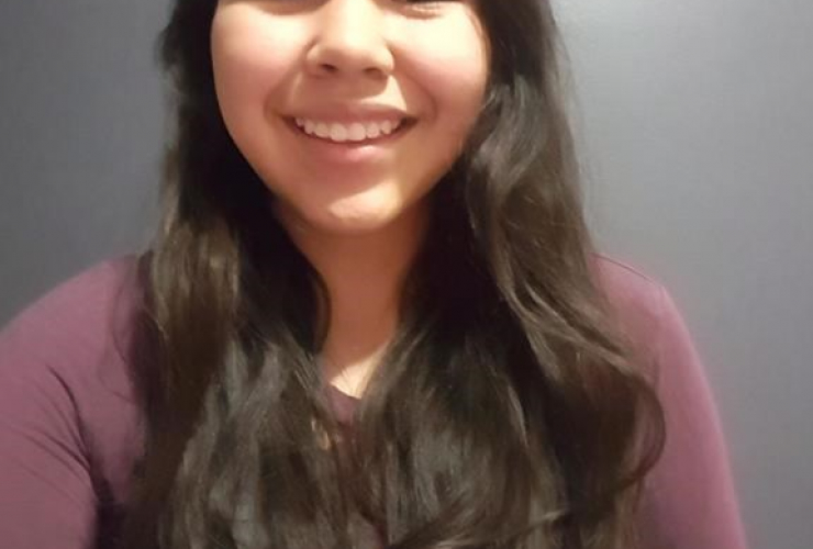 Tessa Erickson, Nak'azdli Whut'en, First Nation,