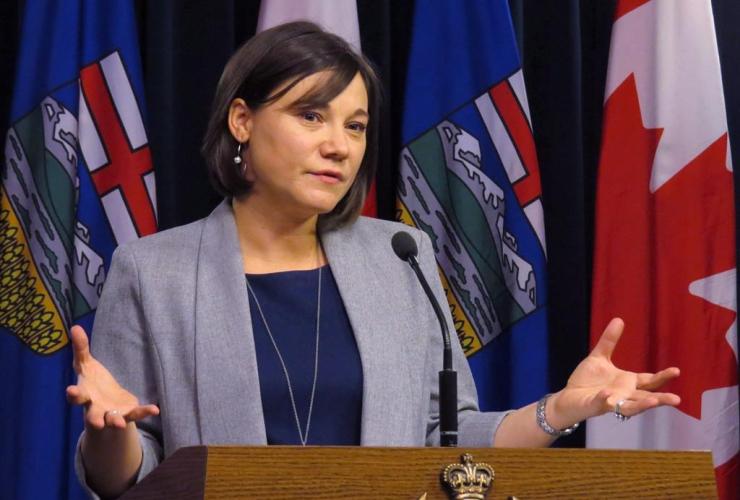 Alberta Environment Minister, Shannon Phillips, Edmonton,
