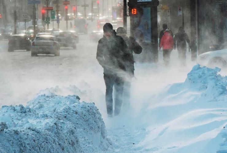 extreme weather, January, 2017, cold, freezing