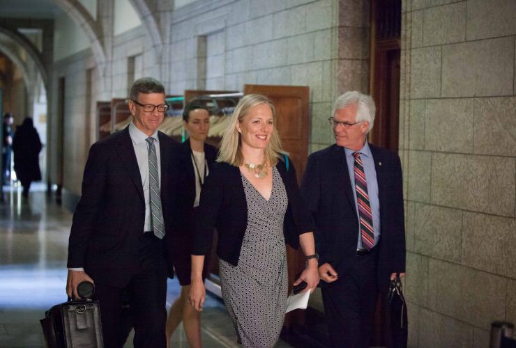Stephen Lucas, Catherine McKenna, Jim Carr, Jocelyn Lubczuk, Parliament, Ottawa
