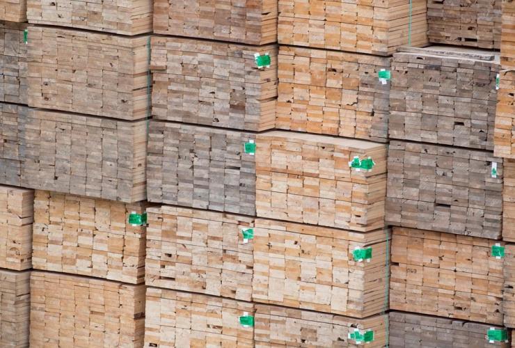 Softwood lumber, Fraser River, Richmond,