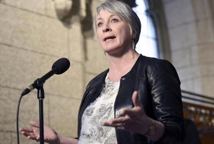 Patty Hajdu, employment minister, Parliament hill