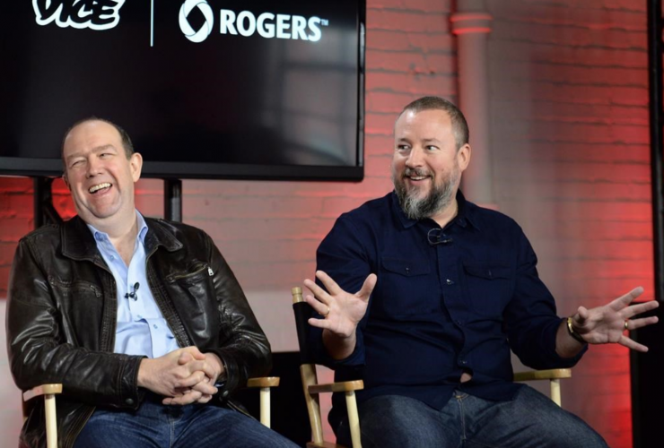 Shane Smith, VICE News, Rogers Communications, Guy Laurence