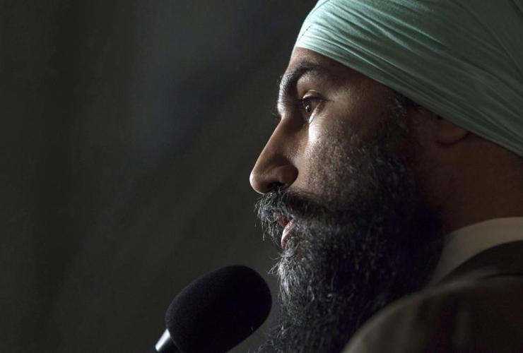 NDP leader, Jagmeet Singh,