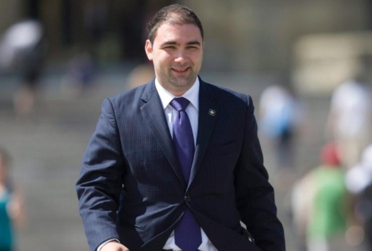 Dimitri Soudas, Ottawa, Parliament Hill