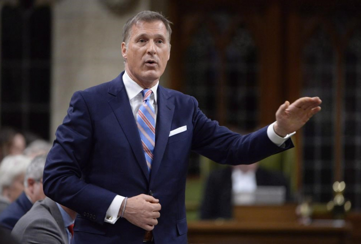 Maxime Bernier, question period, House of Commons, Parliament Hill,