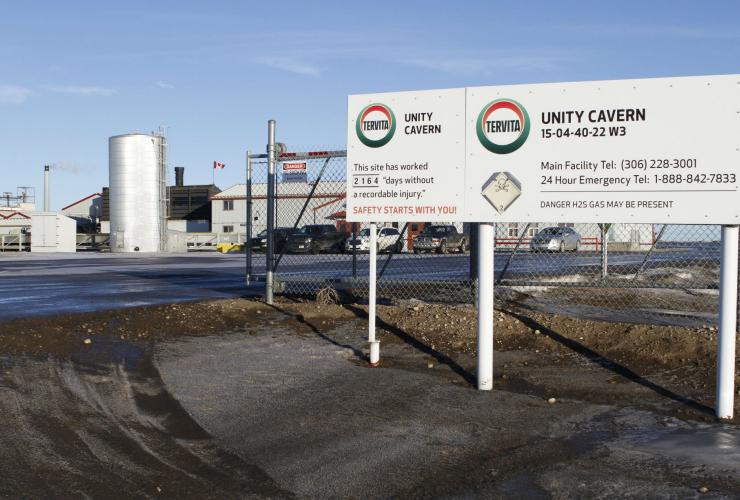 Tervita, Saskatchewan, Unity, sour gas, hydrogen sulfide,