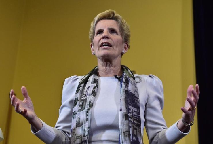 Ontario Premier Kathleen Wynne, Legislative Assembly, Ontario,