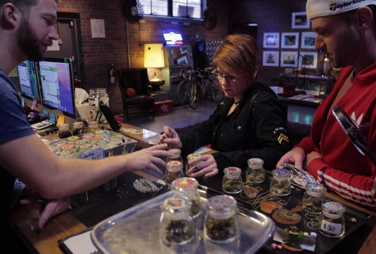 Budtender, Phillip Courdery, marijuana, Marissa Toia, Mike Tebo, Cannabis Station dispensary, Denver,