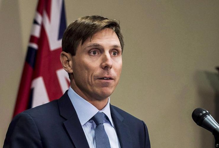 Ontario Progressive Conservative Leader, Patrick Brown,