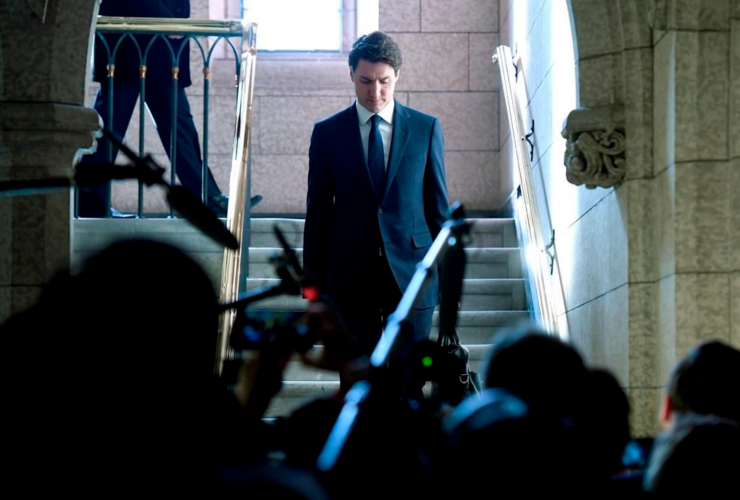 Justin Trudeau, Parliament Hill, House of Commons