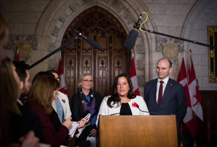 Jody Wilson-Raybould, Carolyn Bennett, Jane Philpott