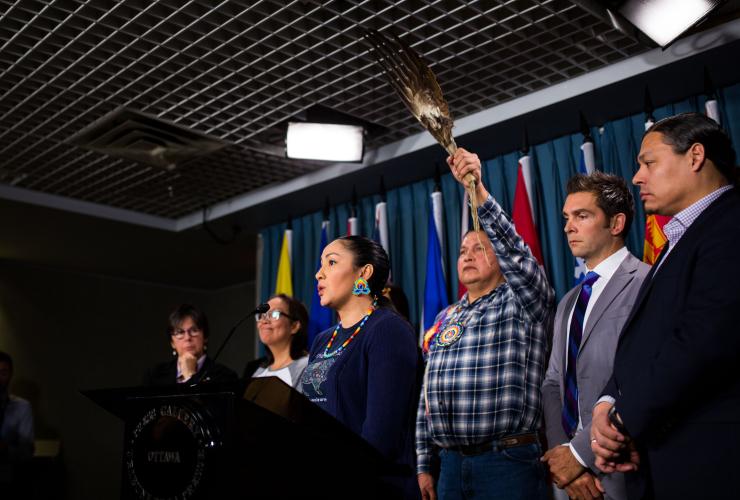 Colton Boushie, Alvin Baptiste, Sheldon Wuttunnee, Red Pheasant Cree Nation