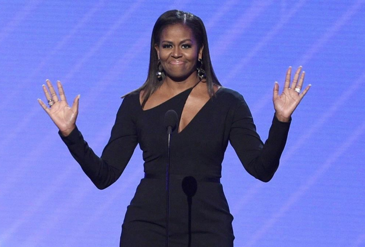 Former first lady Michelle Obama, Arthur Ashe Courage Award, ESPYS, Microsoft Theater, Los Angeles,
