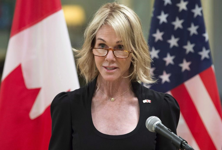 United States Ambassador, Kelly Knight Craft, Rideau Hall,