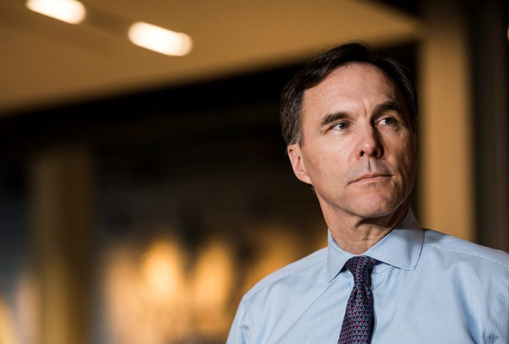 Finance Minister, Bill Morneau, private sector economists, Toronto,
