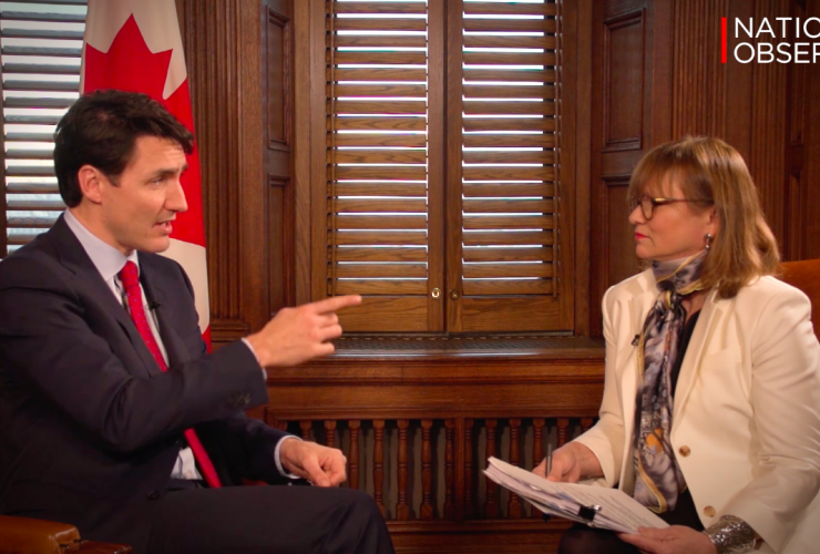 Justin Trudeau, Sandy Garossino, Ottawa, Kinder Morgan
