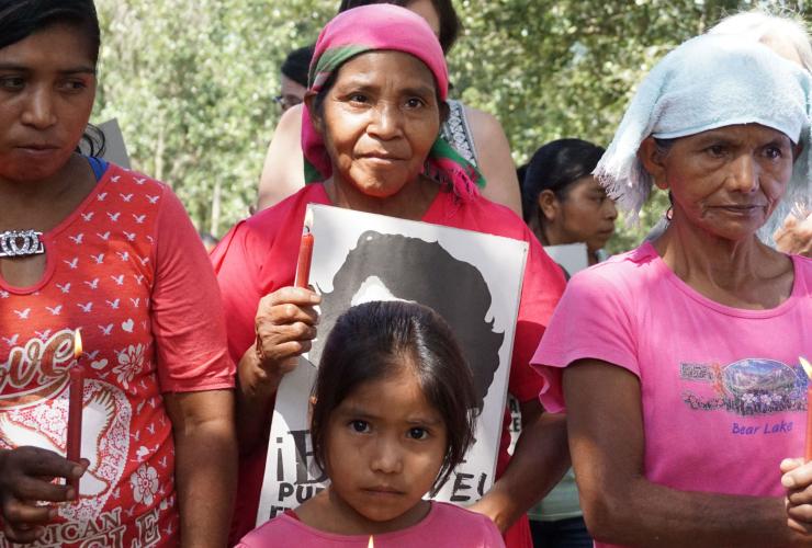 Lenca people, Honduras, Berta Cáceres, Río Blanco, COPINH