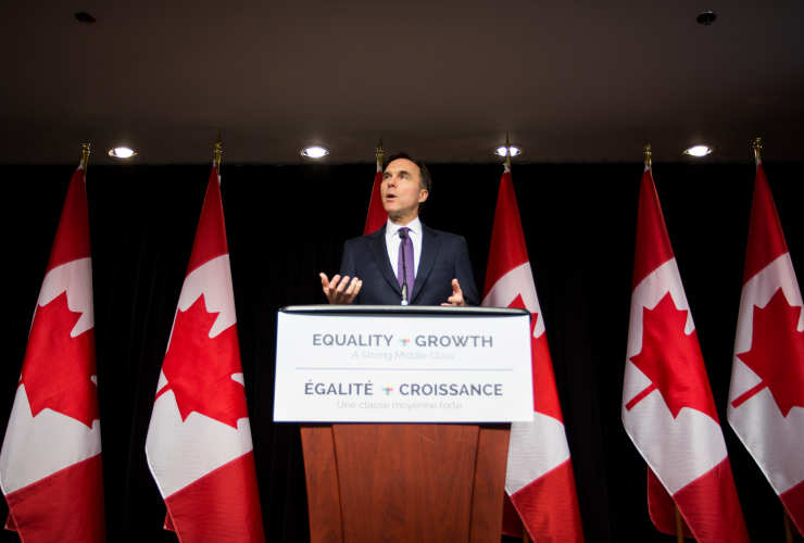 Bill Morneau, Finance Canada, Finance Minister, Budget 2018
