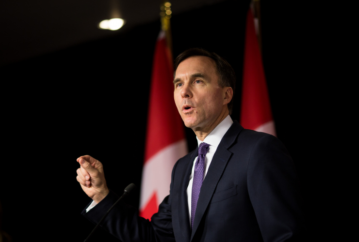 Bill Morneau, Ottawa, budget, 2018
